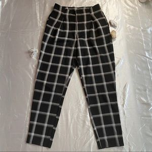 Windsor Plaid Pants Small